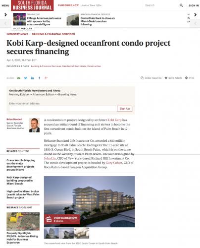 Kobi Karp Designed