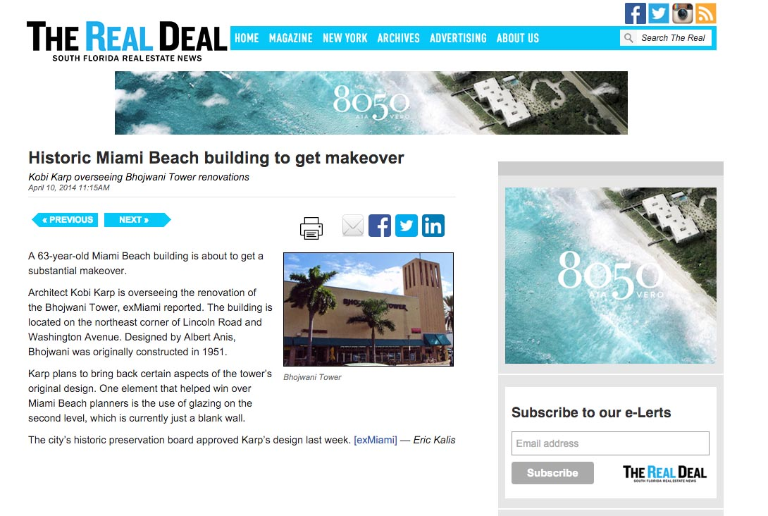 The Real Deal Historic Miami Beach